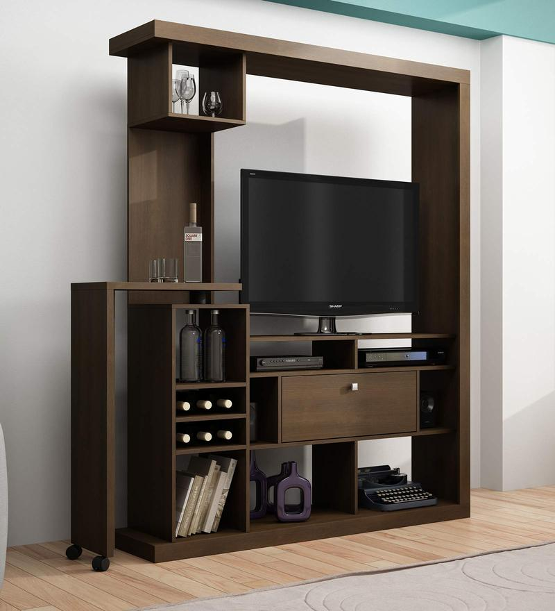 Maemi Entertainment Unit in Tobacco Finish by Mintwud
