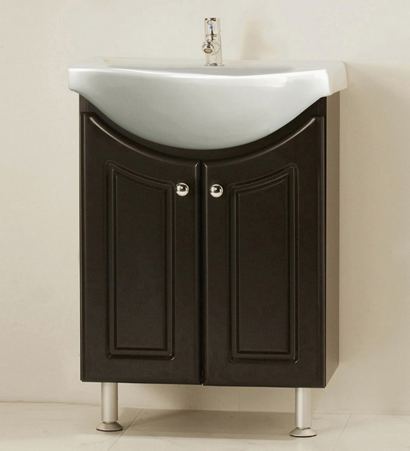 Magickwoods Brown Porcelain and MDF Vanity