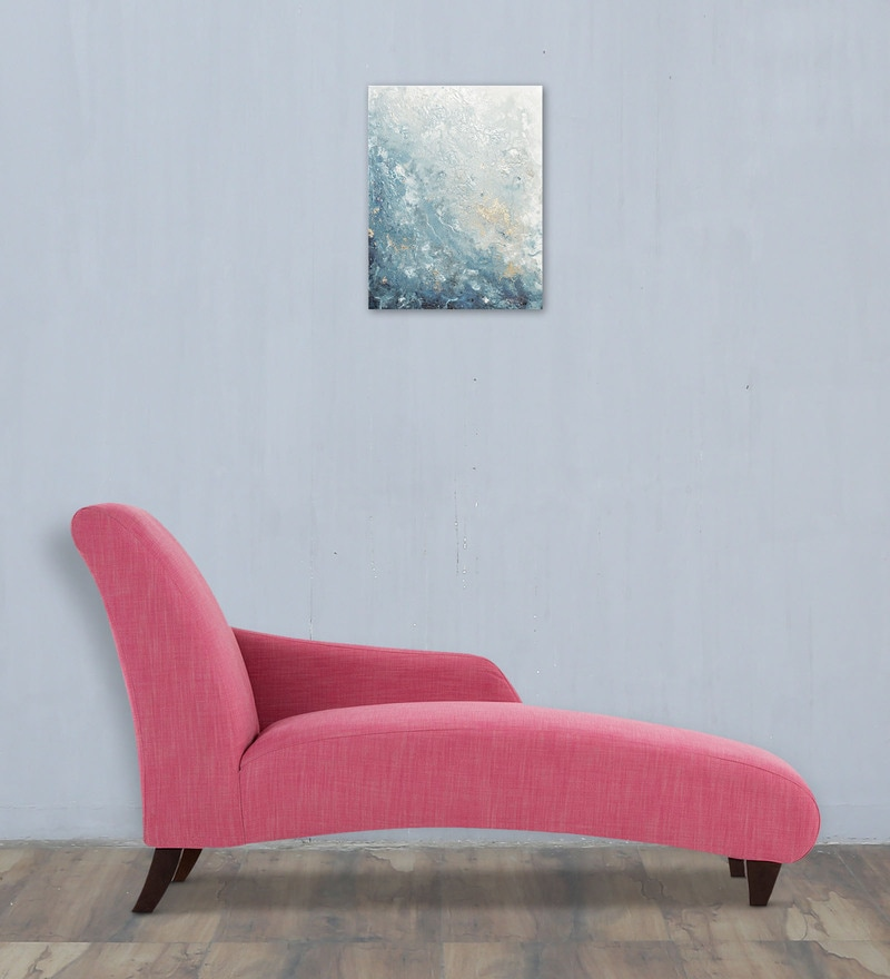 Majestic Accent Chaise in Pink Colour by Dreamzz Furniture