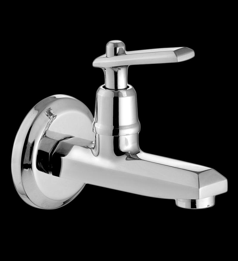 Marine Premium Silver Brass Bib Cock Faucet