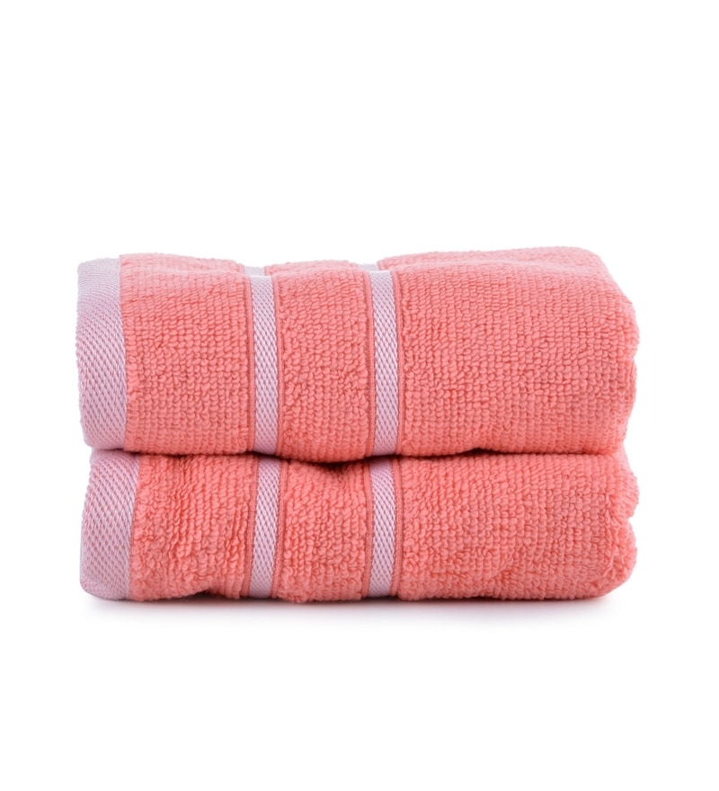 Cherry Cotton Simply Soft 16 x 24 Hand Towel - Set of 2 by Mark Home