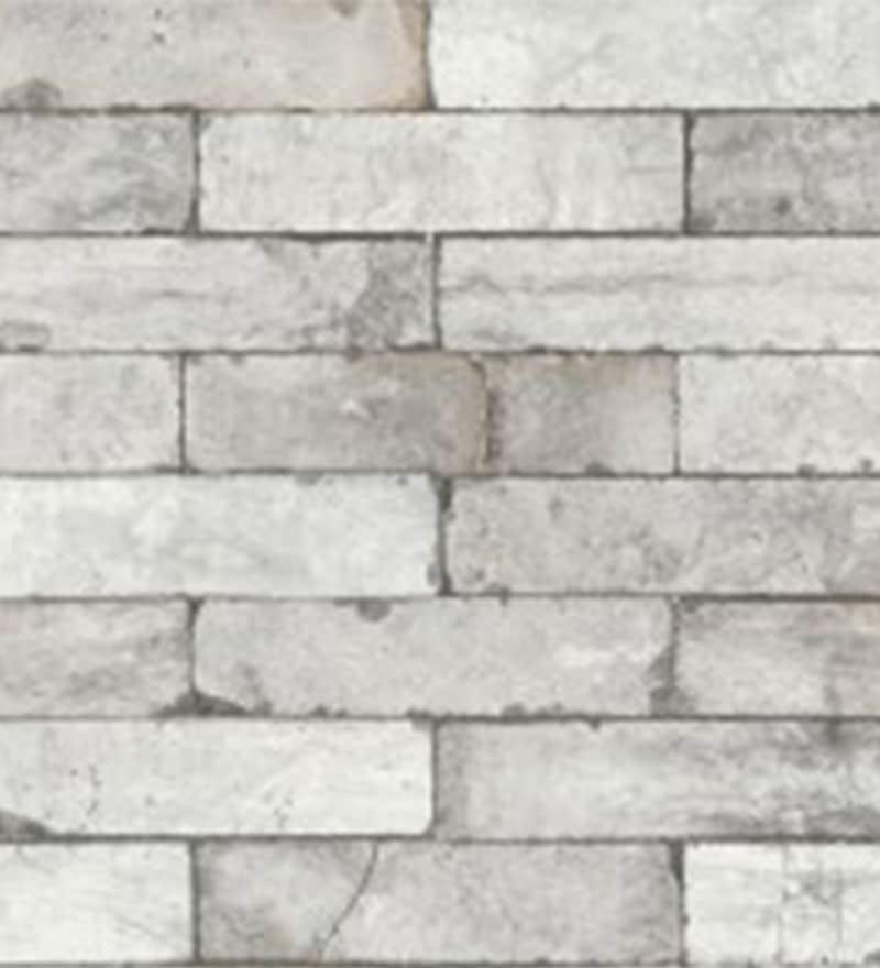 Grey Non Woven Fabric Haze Wallpaper by Marshalls WallCoverings