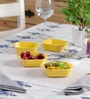 Machi Magica Yellow Melamine 250 ML Bowl - Set Of 4
