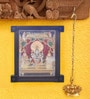 Madhurya Multicolour Gold Plated Badrinarayana Framed Tanjore Painting