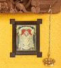 Madhurya Multicolour Gold Plated Balaji Framed Tanjore Painting