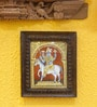 Madhurya Multicolour Gold Plated Kalki Framed Tanjore Painting