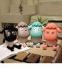 Madsbag Led Sheep Table Study Night Lamp in Black Colour