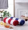 Magna Multicolour Cotton 29 x 57 Bath Towel - Set of 2