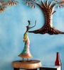 Multicolour Iron Dancing Doll Statue Showpiece by Malik Design