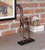 Malik Design Brown Metal Small Horse
