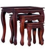 Margaret Set of Tables in Honey Oak Finish by Amberville