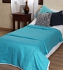 Mark Home Turquoise Cotton Solid 90 x 54 Inch Single Bed Dohar