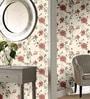 Marshalls Wallcoverings Cream Non Woven Fabric Floral Design Wallpaper