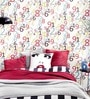 Multicolour Non Woven Fabric Numbers Wallpaper by Marshalls WallCoverings
