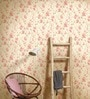 Marshalls Wallcoverings White Non Woven Fabric Floral Wallpaper