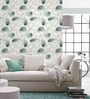 Grey Non Woven Fabric Loop Print Wallpaper by Marshalls WallCoverings
