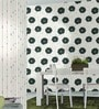 Green & White Non Woven Fabric Wallpaper by Marshalls WallCoverings