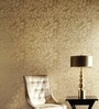 Marshalls Wallcoverings Yellow Non Woven Fabric Floral Wallpaper