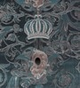 Marshalls Wallcoverings Blue Non Woven Fabric Wallpaper