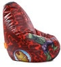 Marvel Avengers Kids Bean Bag with Beans in Multicolour by Orka
