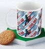Marvel Civil War-Captain Action Multicolour Ceramic 350 ML Mug