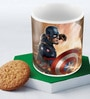 Marvel Civil War-Captain Theme Multicolour Ceramic 350 ML Mug