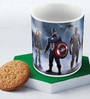 Marvel Civil War Team Fight Multicolour Ceramic 350 ML Mug