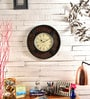 Marwar Stores Multicolour MDF 12 Inch Round Wall Clock