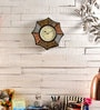 Multicolour MDF 18 x 2 x 18 Inch Star Shaped Wall Clock by Marwar Stores