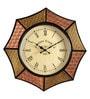 Multicolour MDF 18 x 2 x 18 Inch Star Shaped Wall Clock by Marwar Stores