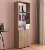 McBruno Book Shelf Unit in Country Oak