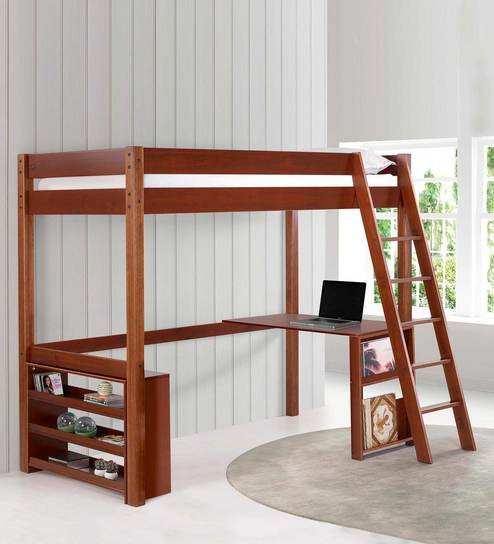 Charmant McCaffeine Loft Bed With Study Desk U0026 Shelves By Mollycoddle