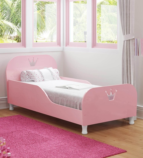 Buy Mctino Single Bed In Rosy Pink By Mollycoddle Online Kids Beds