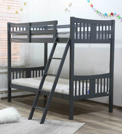 info for d2fd7 a53c1 McUno Kids Bunk Bed in Grey Finish by Mollycoddle