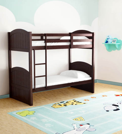 Mcxander Bunk Bed In Wenge Finish