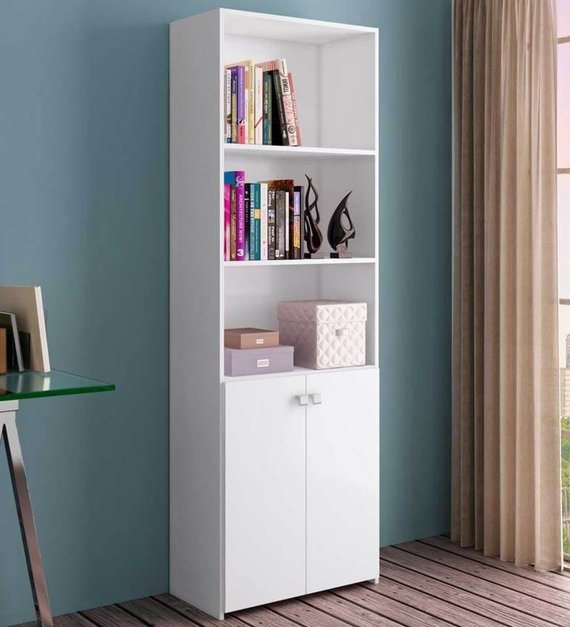 McAlba Book Shelf Unit in Satin White by Mollycoddle