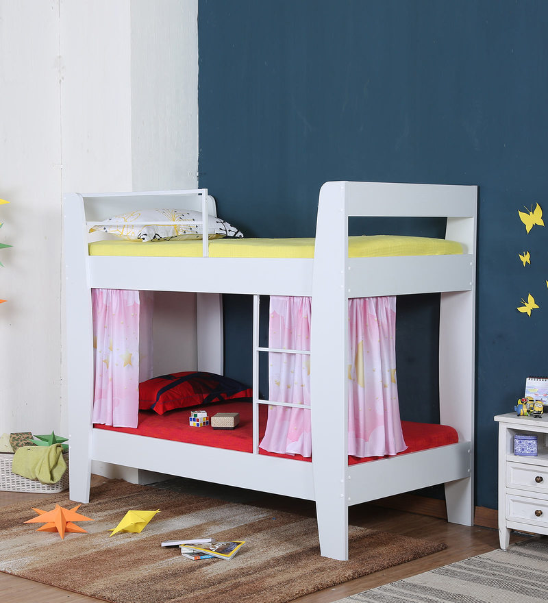 bed classic white beds kids stompa bunk product