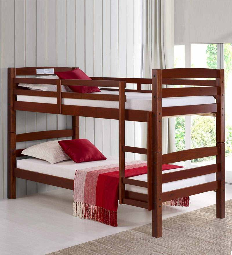 McRetro Bunk Bed in Walnut Finish by Mollycoddle