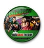 Multicolour Iron Official The Big Bang Theory Comic Style Fridge Magnet Licensed by Warner Bros USA by MC SID RAZZ