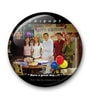 Multicolour Metal Official Friends Happy Birthday Chandler Fridge Magnet Licensed by Warner Bros USA by MC SID RAZZ