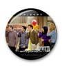 MC SID RAZZ Multicolour Metal Official Friends Happy Birthday Rachel Fridge Magnet Licensed by Warner Bros USA