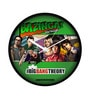 Multicolour Plastic 12 Inch Round Official The Big Bang Theory Comic Style Wall Clock Licensed by Warner Bros USA by MC SID RAZZ