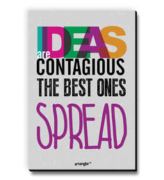 MDF Idea Are Contagious The Best Ones Spread Fridge Magnet