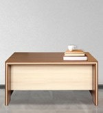 Merit Office cum Study Table in Wenge Finish