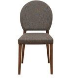 Messo Dining Chair in Dark Walnut Colour