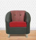 Mexico One Seater in Red & Black Colour