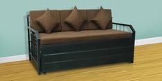Metal Sofa cum Bed with Hydraulic Storage