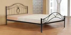Seattle Metallic Queen Size Bed