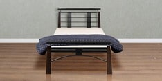New York Metallic Single Bed
