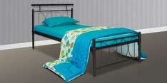 Perth Metallic Single Bed